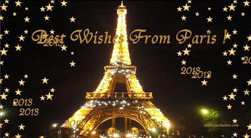 free animated wallpaper best wishes from paris 2013